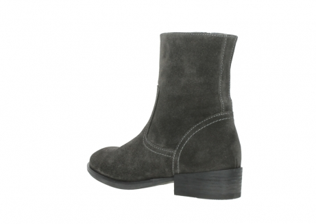 wolky mid calf boots 04514 assam 40210 anthracite oiled suede_4