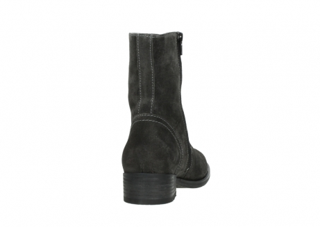 wolky mid calf boots 04514 assam 40210 anthracite oiled suede_8
