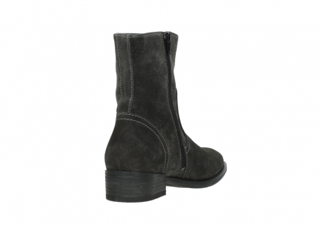 wolky mid calf boots 04514 assam 40210 anthracite oiled suede_9