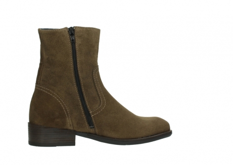 wolky mid calf boots 04514 assam 40310 mid brown oiled suede_12
