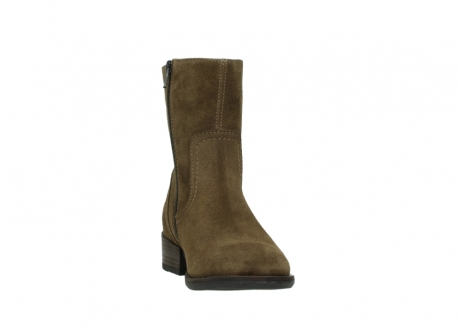 wolky mid calf boots 04514 assam 40310 mid brown oiled suede_18