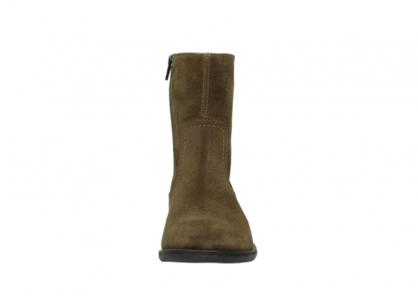 wolky mid calf boots 04514 assam 40310 mid brown oiled suede_19