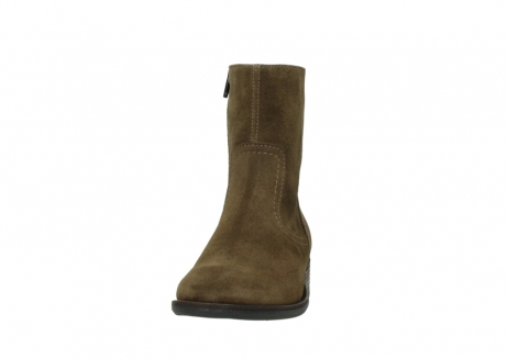 wolky mid calf boots 04514 assam 40310 mid brown oiled suede_20