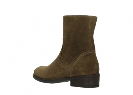 wolky mid calf boots 04514 assam 40310 mid brown oiled suede_4