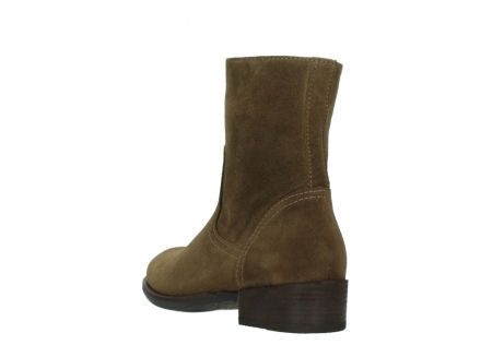 wolky mid calf boots 04514 assam 40310 mid brown oiled suede_5