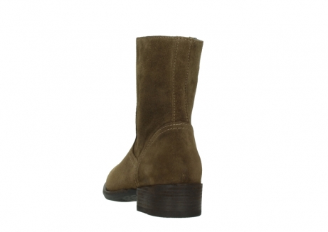 wolky mid calf boots 04514 assam 40310 mid brown oiled suede_6