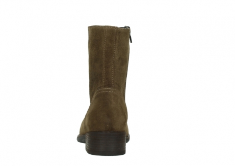wolky mid calf boots 04514 assam 40310 mid brown oiled suede_7