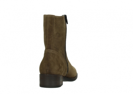 wolky mid calf boots 04514 assam 40310 mid brown oiled suede_8