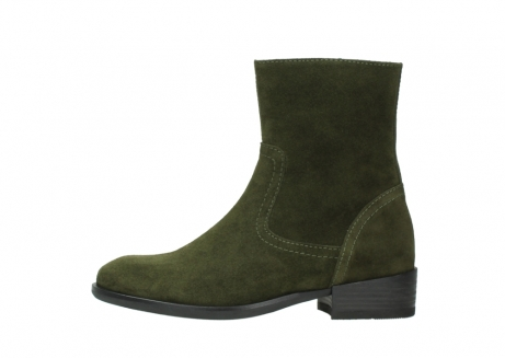 wolky mid calf boots 04514 assam 40730 forest green oiled suede_1