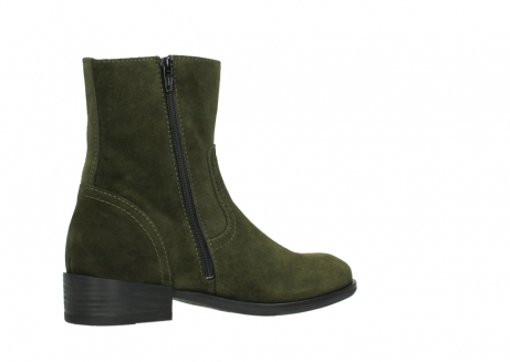 wolky mid calf boots 04514 assam 40730 forest green oiled suede_11
