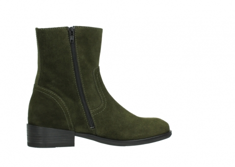 wolky mid calf boots 04514 assam 40730 forest green oiled suede_12
