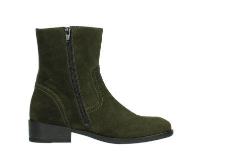 wolky mid calf boots 04514 assam 40730 forest green oiled suede_13