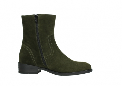 wolky mid calf boots 04514 assam 40730 forest green oiled suede_14