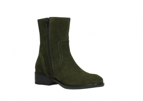 wolky mid calf boots 04514 assam 40730 forest green oiled suede_16