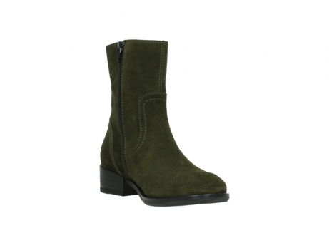 wolky mid calf boots 04514 assam 40730 forest green oiled suede_17
