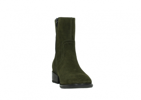wolky mid calf boots 04514 assam 40730 forest green oiled suede_18