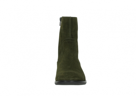wolky mid calf boots 04514 assam 40730 forest green oiled suede_19