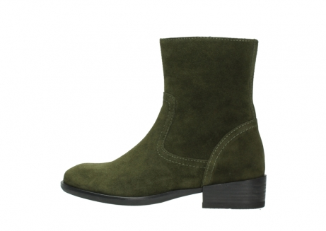 wolky mid calf boots 04514 assam 40730 forest green oiled suede_2