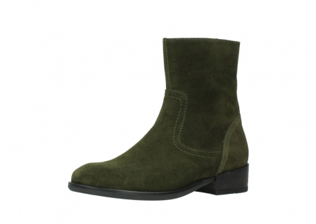 wolky mid calf boots 04514 assam 40730 forest green oiled suede_23