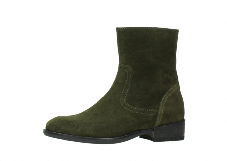 wolky mid calf boots 04514 assam 40730 forest green oiled suede_24