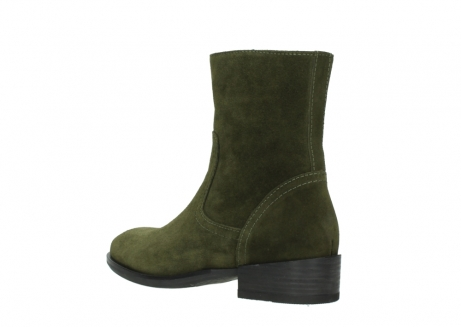 wolky mid calf boots 04514 assam 40730 forest green oiled suede_4