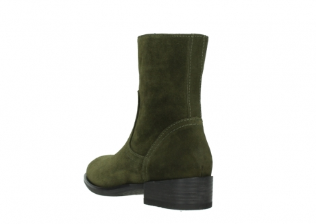 wolky mid calf boots 04514 assam 40730 forest green oiled suede_5