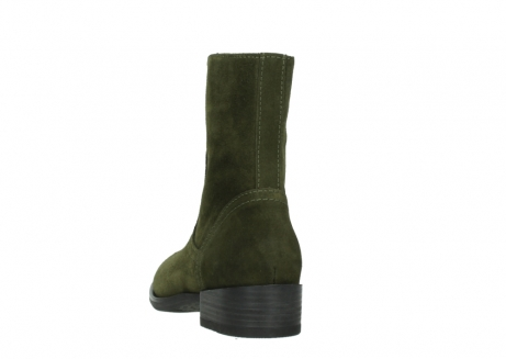 wolky mid calf boots 04514 assam 40730 forest green oiled suede_6