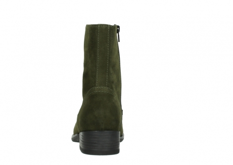 wolky mid calf boots 04514 assam 40730 forest green oiled suede_7