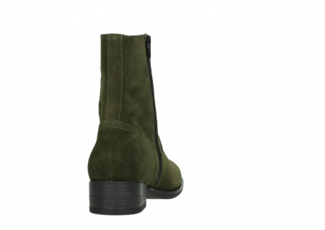 wolky mid calf boots 04514 assam 40730 forest green oiled suede_8