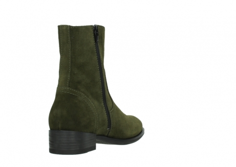wolky mid calf boots 04514 assam 40730 forest green oiled suede_9