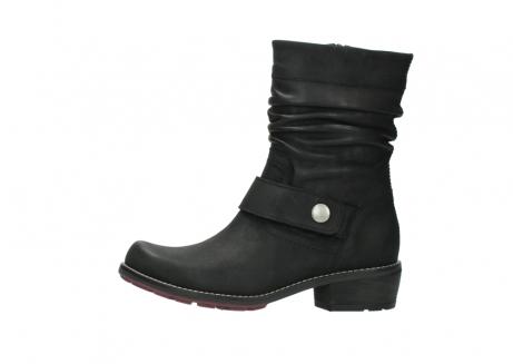 wolky halfhoge laarzen 0526 desna 100 zwart geolied nubuck_1