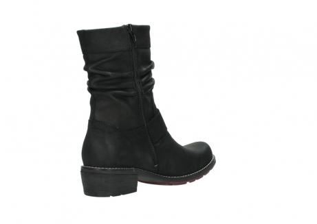 wolky halfhoge laarzen 0526 desna 100 zwart geolied nubuck_10
