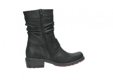 wolky halfhoge laarzen 0526 desna 100 zwart geolied nubuck_12