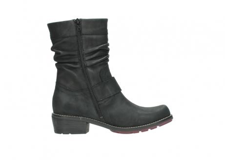 wolky halfhoge laarzen 0526 desna 100 zwart geolied nubuck_13