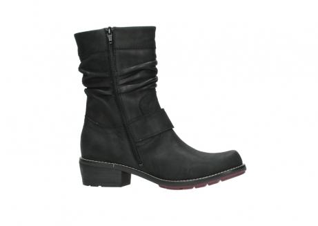 wolky halfhoge laarzen 0526 desna 100 zwart geolied nubuck_14