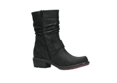 wolky halfhoge laarzen 0526 desna 100 zwart geolied nubuck_15