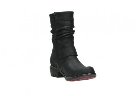wolky halfhoge laarzen 0526 desna 100 zwart geolied nubuck_17