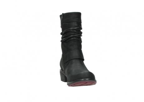 wolky halfhoge laarzen 0526 desna 100 zwart geolied nubuck_18