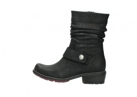 wolky halfhoge laarzen 0526 desna 100 zwart geolied nubuck_2