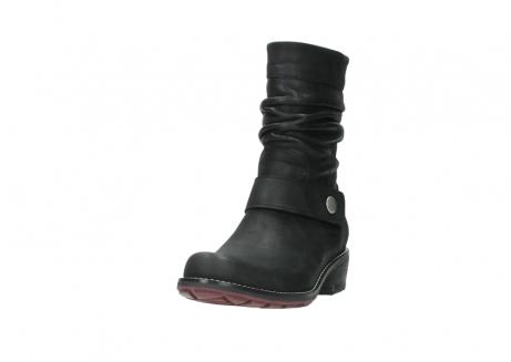 wolky halfhoge laarzen 0526 desna 100 zwart geolied nubuck_21