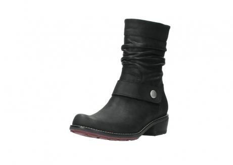 wolky halfhoge laarzen 0526 desna 100 zwart geolied nubuck_22