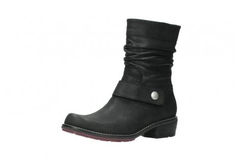 wolky halfhoge laarzen 0526 desna 100 zwart geolied nubuck_23