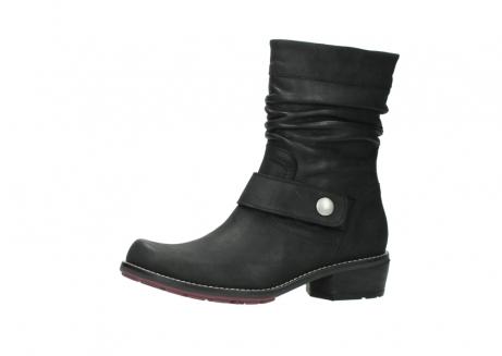 wolky halfhoge laarzen 0526 desna 100 zwart geolied nubuck_24