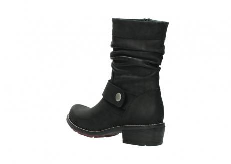 wolky halfhoge laarzen 0526 desna 100 zwart geolied nubuck_4