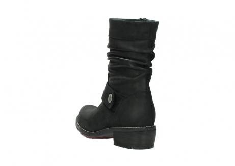 wolky halfhoge laarzen 0526 desna 100 zwart geolied nubuck_5