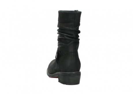 wolky halfhoge laarzen 0526 desna 100 zwart geolied nubuck_6