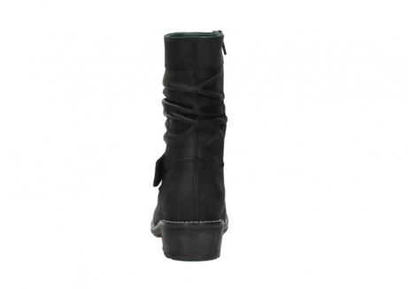 wolky halfhoge laarzen 0526 desna 100 zwart geolied nubuck_7