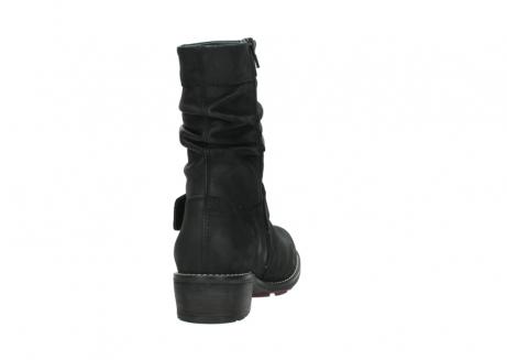 wolky halfhoge laarzen 0526 desna 100 zwart geolied nubuck_8
