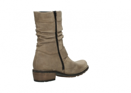 wolky halbhohe stiefel 0526 desna 115 taupe geoltes veloursleder_10