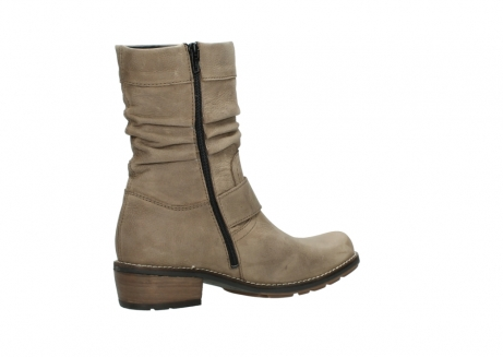 wolky halbhohe stiefel 0526 desna 115 taupe geoltes veloursleder_11